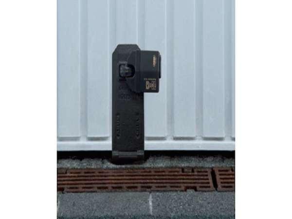 Antivol porte garage basculante abus granit haute s curit - Cadenas pour porte de garage ...