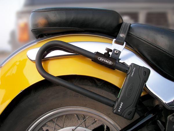 support u k502 artago support antivol u pour moto par artago. Black Bedroom Furniture Sets. Home Design Ideas