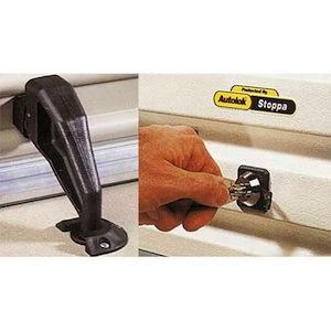 kit antivol porte de garage pour protection moto scooter auto. Black Bedroom Furniture Sets. Home Design Ideas
