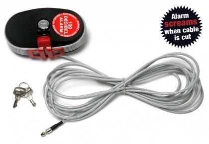 Câble XL Lock Alarm, câble alarme magasins, bars et restaurants